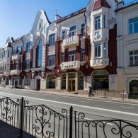 The nature energy in Smolensk buildings architecture