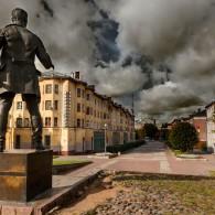 Smolensk son of Saturn, or the monument dedicated to N.V. Krilenko