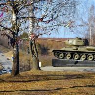Враг под прицелом, или памятник – Танк Т-34